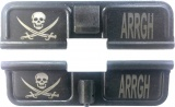 Double Sided Pirate / Arrgh AR-15 Laser Engraved Ejection Port Dust Cover