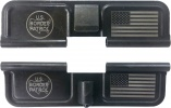 Double Sided Border Patrol USA AR-15 Laser Engraved Ejection Port Dust Cover