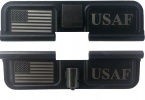 Double Sided USAF U.S. Air Force American Flag Laser Engraved Ejection Port Dust Cover