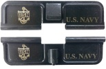 Double Sided U.S. Navy Anchor Insignia AR-15 Laser Engraved Ejection Port Dust Cover