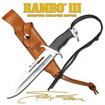 Master Cutlery 7 Mini Rambo Iii Syl Stal/sig knives -RBM3SS