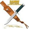 Master Cutlery 5.75MINI RAMBO I SYL STAL/SIG - -RBM1SS