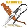 Master Cutlery 7 MINI RAMBO III SYL STAL/SIG - -RBM3SS