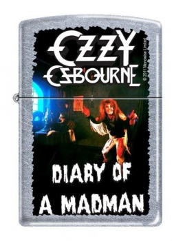 Zippo Ozzy Diary of a Madman Z207OZZY. This Zippo lighter is a must have for any Ozzy fan! It would make a great gift for one, too! 207OY