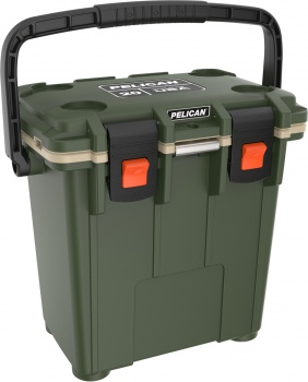 Pelican 20qt Elite Cooler-od Grn/tan cases 06827