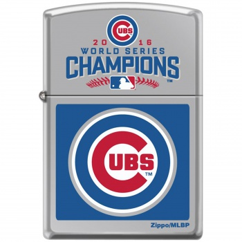 Zippo 2016 Cubs World Series lights 250CUBS