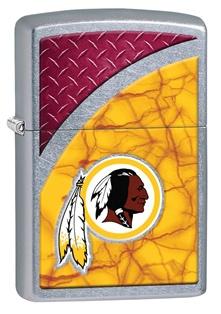 Zippo Nfl Washington Redskins lights 29382