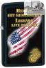 Zippo USMC HEROES/ LEGENDS - 28522