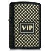 Zippo BLACK MATTE GOLD VIP - 28531