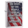 Zippo RIGHT OF THE PEOPLE BR CHROME - 28641
