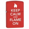 Zippo KEEP CALM AND FLAME ON - 28671