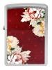 Zippo ST CHRM/MULTI COLOR FLOWER IMA - 28849