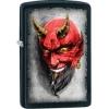 Zippo BLK MATTE DEVIL IMAGE - 28862