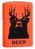 Zippo BEER BEAR-ORANGE MATTE - 29343