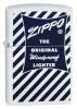 Zippo ZIPPO BLUE WHITE 1958-59 - 29413