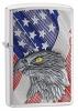 Zippo USA FLAG W/EAGLE EMBLEM - 29508