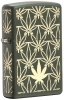 Zippo ALL AROUND MARIJUANA LEAVES - 29589