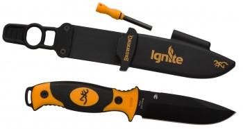 Browning Black And Orange Ignite knives 322-0161