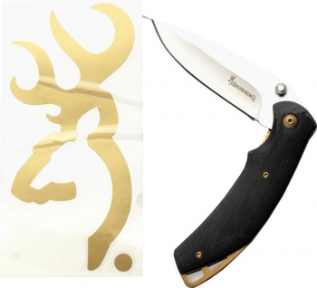 Browning Knife/decal Combo For Him knives 322-386