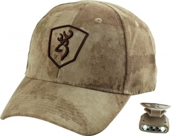 Browning Camo Cap with Light BR371-326 371-3260