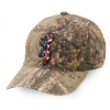 Browning American Flag Logo Camo Hat BR308176241