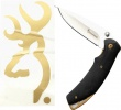 Browning KNIFE/DECAL COMBO FOR HIM - 322-386