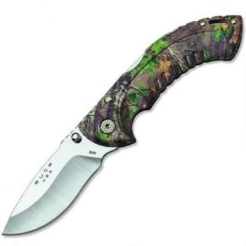 Buck 7493 Fold Omni Hunt 10pt Camo knives 395CMS20