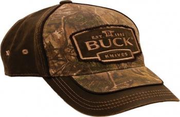 Buck Buck Logo Cap Camo 7763 knives 89087