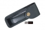 Buck Black Leather Sheath B110S