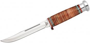 Case 9 1/2 Fix Hunt Leath Mushroom knives 10344