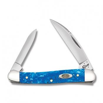 Case Blu Spkl Kirin-mini Copperhead knives 13536
