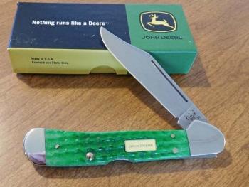 Case Jd Br Green Bone Copperlock knives 15745