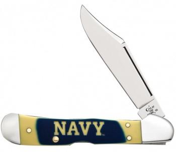 Case Navy-navy Over Ylw Copperlock knives 17713