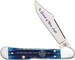 Case Masonic Gift Tin - Corn Cob Jig Blue Bone Mini Copperlock� (61749l Ss) knives 25531
