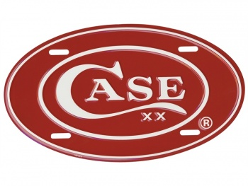 Case License Plate-oval knives 52441