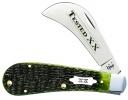 Case Tested XX Olive Green Bone 61011 SS Hawkbill - 10267
