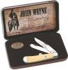 Case John Wayne Gift Set - Smooth Cream Synthetic Trapper (4254 SS) - 10688