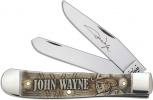 Case John Wayne - Embellished Smooth Natural Bone Trapper (6254 SS) - 10699