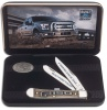Case Ford F150 Smooth Natural Bone Trapper (6254 SS) in Jewel Box - 14314