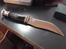 Case Buffalo Horn Hunter (BH23-5 SS) with Leather Sheath - 17915