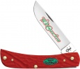 Case Christmas - Rough Dark Red Synthetic Sod Buster Jr (6137 SS) - 25677