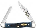 Case Pocket Worn Standard Jig Denim Bone Mini Copperhead (62109X SS) - 26299