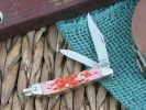 Case Burnt Salmon Bone - Peach Seed Jig Peanut (6220R SS) with Bail - 27052