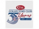 Case CCC-35TH ANNIVERSARY TIN SIGN - 27602