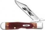 Case Sawcut Caramel Bone - Cheetah (6111 1/2L SS) - 33982