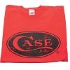 Case RED T-SHIRT HAND-CRAFT LOGO L - 50207