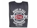 Case T-SHIRT CHARCOAL 2XLARGE - 52469