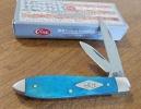 Case Painted Desert - Smooth Caribbean Blue Bone Tear Drop (TM62028 SS) - 63114