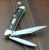 Case Jigged Buffalo Horn - Peanut (BH220 SS) - 65014