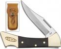 Case Mako - Smooth Ebony Wood with Sheath (7158L SS) - 6920